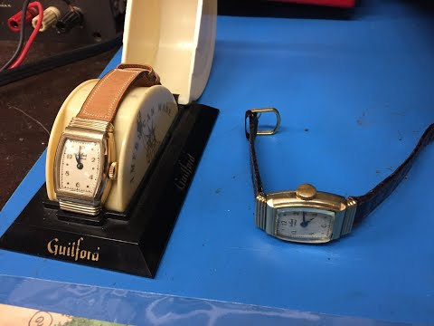 Repair Of A Guilford Watch Company Wrist Watch