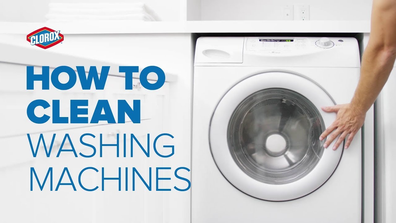 How to Clean Your Washing Machine | Clorox®
