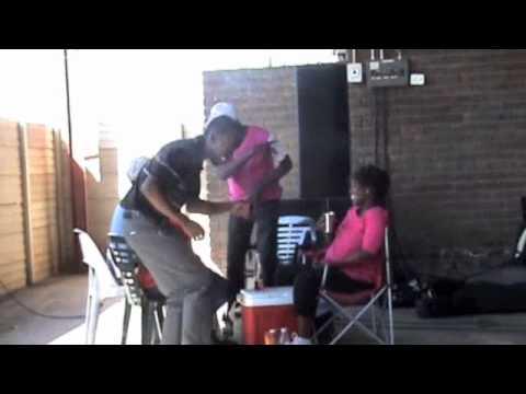 Matt sing a Christmas song in Zulu