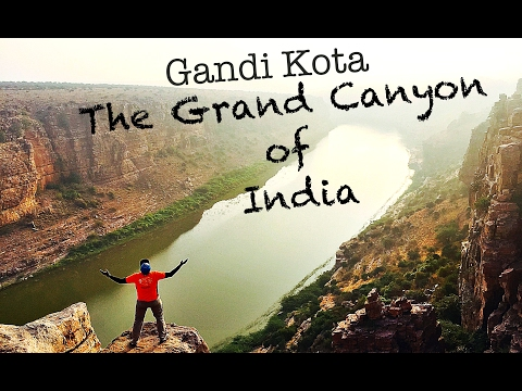 Gandi kota- The Grand Canyon of India, Andhra Pradesh | Places and Beyond Part 2
