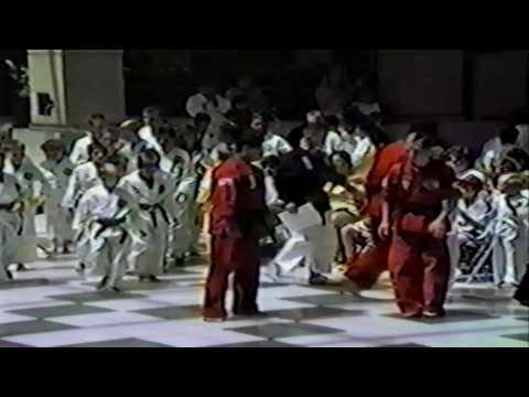 1992 Kick-A-Thon at Forest Fair Mall