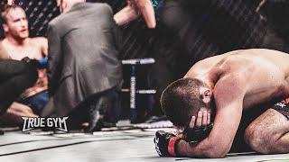 Хабиб заплакал после боя против Гэтжи / Слова после боя / Ушел из UFC