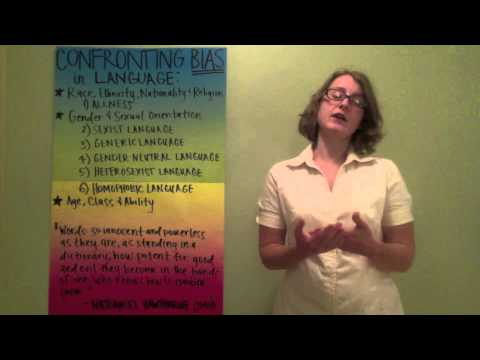 CMST 101 Mini-lecture: Confronting Bias in Language