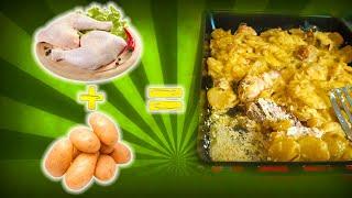 Готовим запеканку из курицы с картошкой по Маминому рецепту
