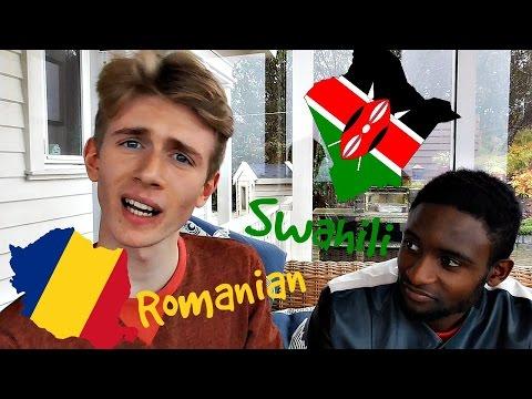 THE LANGUAGE CHALLENGE (Swahili vs. Romanian)