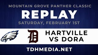 Panther Classic - Hartville vs Dora 2-1-20 Full Game