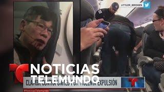 Ira en las redes sociales contra United Airlines | Noticiero | Noticias Telemundo