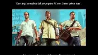 Como descargar GTA V Para Pc en Español full / How to download GTA V Full 1 Link