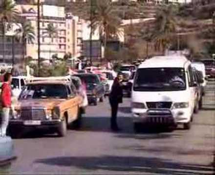 DR RIFAAT ASSAD LEBANON ALFORSAN DEMOSTRATION TRIPOLI