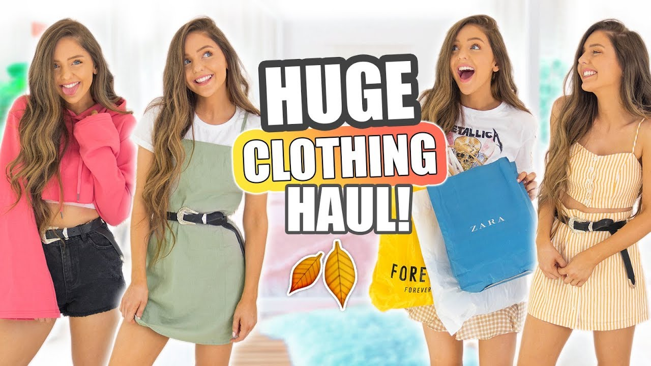 HUGE Try-On Haul 2017! Forever 21, Topshop, H&M, Zara & More!