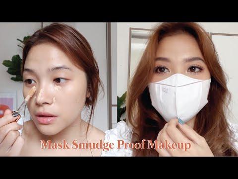 Challenge Makeup Gak Luntur Seharian Pake Masker // Tutorial - YouTube