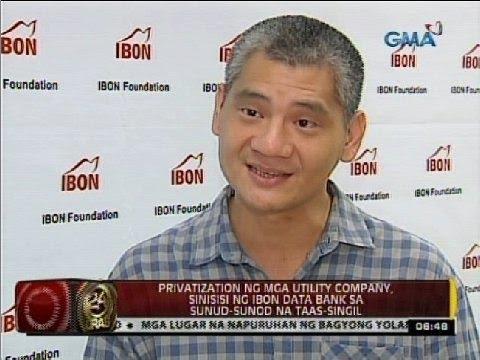 Privatization ng mga utility company, sinisisi ng Ibon Data Bank sa sunud-sunod na taas-singil