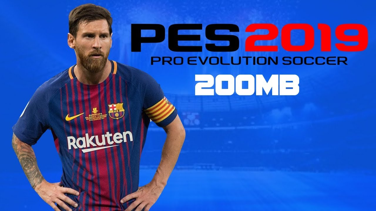 PES 2019 PPSSPP Android Offline 200MB Best Graphics New kits Transfers