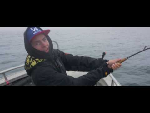Monster halibut fishing in Å!