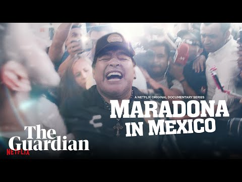 'Maradona in Mexico': watch a trailer for the new Netflix series