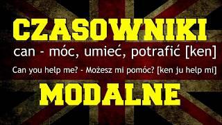 Czasowniki modalne angielski