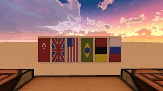 Minecraft Bannerden bayrak yapma - Türkiye, Almanya, Rusya, brezilya ve daha fazlası