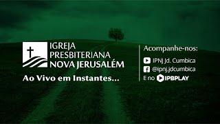Culto Público IPNJ - Dia 26 de Abril de 2020