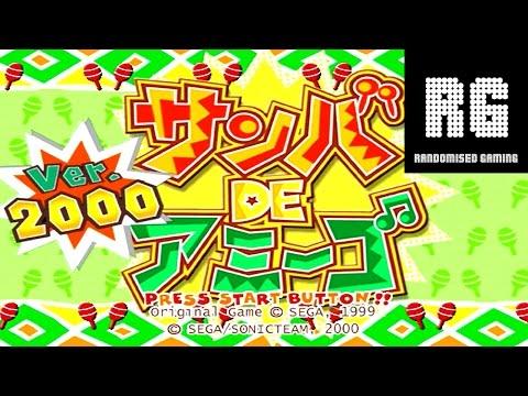 Samba de Amigo Ver. 2000 - Sega Dreamcast - Gameplay, various modes and songs (HD 720P)