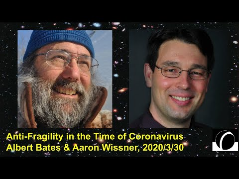Resilience & Antifragility in the Time of Coronavirus: Albert Bates & Aaron Wissner | Local Future