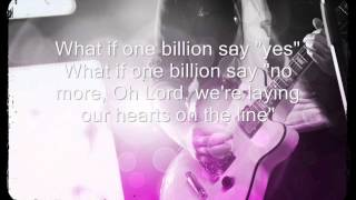 One Billion By Planetshakers lyrics