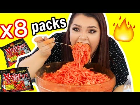 Thumbnail: Extreme Spicy Noodle Challenge! *GONE WRONG* Vomit Warning