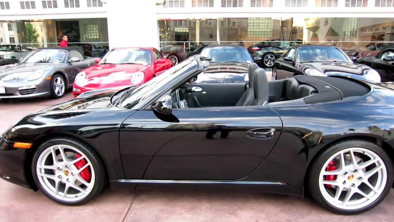 2009 Porsche 911 Carrera S Cabriolet Black 997 Pdk 8 000