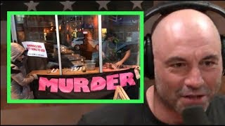 Joe Rogan - Butchering Deer In Front of Vegan Protestors