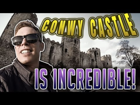 CONWY CASTLE IS INCREDIBLE!