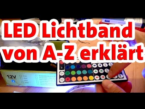LED Lichtband von A-Z erklärt | Unterschiede | Produkttests | Empfehlung Tipps und Tricks