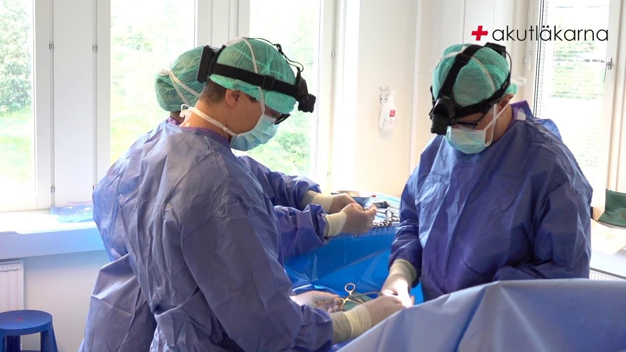 pungbråck efter operation