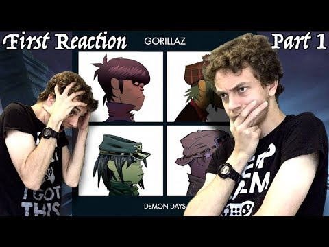 First Reaction to Gorillaz - Demon Days (Review + Analysis) PART 1