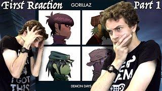First Reaction to Gorillaz - Demon Days (Review + Analysis) PART 1