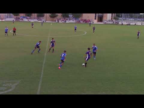 Jacksonville College Men´s Soccer x St. Mary´s University 08 24 2017