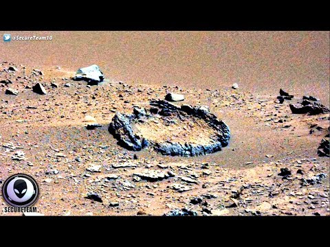 WHO BUILT This Mystery Circle On Mars? 6/16/17