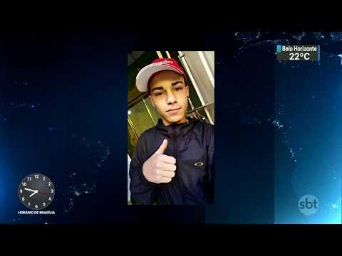 Polícia faz reconstituição de morte de adolescente durante abordagem   SBT Brasil (14/12/17)