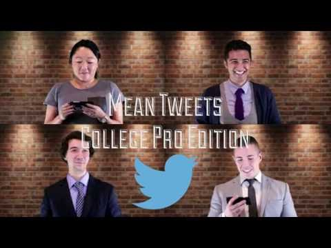 College Pro Reads Mean Tweets