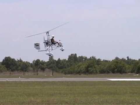 Download Tim Verroi flying his Butterfly Monarch gyro at Bensen Days 2010