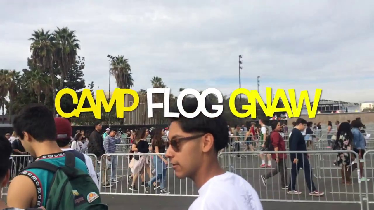 Camp Flog Gnaw 2016 Playlist