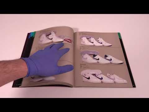 ShoeZeum 1985 Nike Footwear Catalog With Michael Jordan Next To The Air Ship