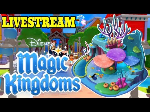 Disney Girl's Magic Kingdoms Livestream! THE SEAS WITH NEMO AND FRIENDS! Finding Nemo Event! Ep.36