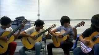 Tres movimientos dinámicos- Oliver Bensa - I. Allegro - Alumnos prepa 7