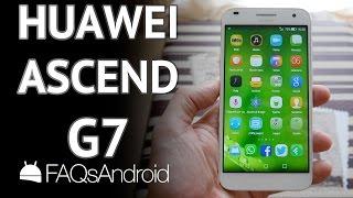 Huawei Ascend G7: análisis de un android de gama media