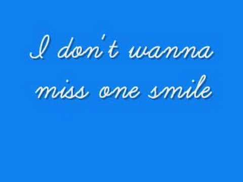 I Dont Want To Miss A Thing Lyrics