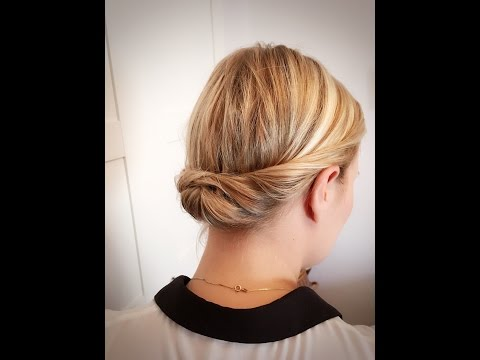 twisted-updo-/-thin-and-short-hair-/-dünnes-haar