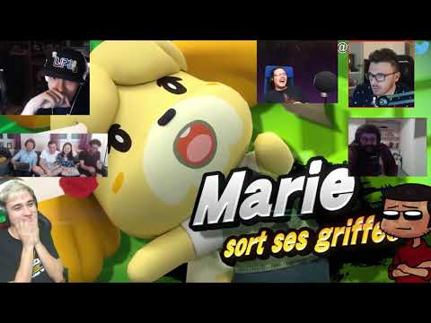 NINTENDO DIRECT RÉACTION À ANIMAL CROSSING SWITCH MASHUP (FRANCE)