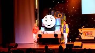 "Thomas The Train performing ""Thomas the Tank Engine"" and ""Thomas"