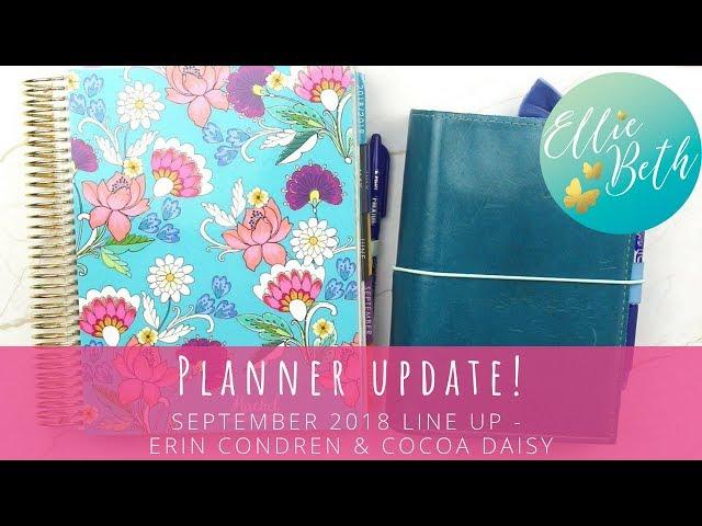Planner Update! Erin Condren Hourly + Cocoa Daisy