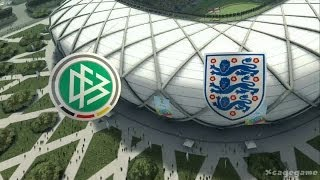 2014 FIFA World Cup Gameplay - Germany vs England - FULL Game [ HD ]