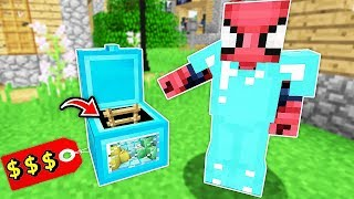 ZENGİN'in 10.000 TL'lik GİZLİ SANDIK EVİ BULUNDU! 😱 - Minecraft